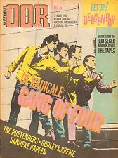 MAGAZINE OOR 1980 nr. 05  - GANG OF FOUR / BOUDEWIJN BÜCH / PRETENDERS/BELGENPOP