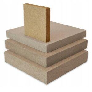 Vermiculite Platte 500 x 300 x 30mm Dicke 30mm Schamotte Ersatz Feuerraum