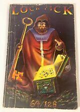 Commodore 64 / 128 Book: Lock Pick Utilities Unlimited 1987 Retro Video Game Vtg
