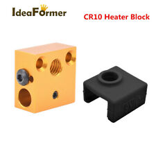 CR10 Heater Block Silicone Sock For CR10 Ender 3 MK7/MK8/MK9 Extruder Hot End.