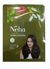 5 Pack Neha Henna Mehandi Powder 13 Herbs Blend Herbal Hair Dye Color 55gm