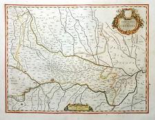 ITALIEN ITALY TERRITORIO DI CREMONA LOMBARDEI PIACENZA BLAEU KOLORIT 1640