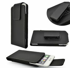 PU Leather Case Pouch  with Rotating Belt Clip for Samsung N7100 /Note 3