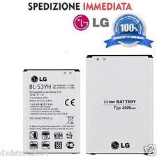Batteria Originale BL-53YH per Lg G3 D850 D851 D855 D830 3000mah NUOVA RICAMBIO