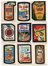 1973 Wacky Packages Series 3 COMPLETE SET of 30 & Puzzle Piece / Checklist SET