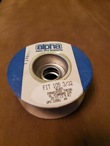 """Alpha Wire FIT 105 3/32"""" 25' Spool NEW"""