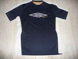 t-shirt sport UMBRO garçon 12 ans bleu