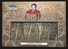 2019-20 Leaf Lumber Kings Game Used Lumber Gordie Howe Stick 1/10