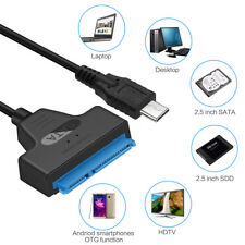USB3.1 Type-C Male To SATA 22 Pin Adapter Cable For 2.5Inch Hard Disk Driver SSD