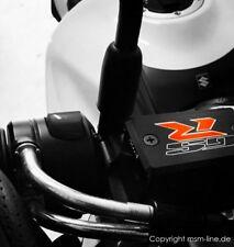 """Suzuki GSR600 / GSR750 Deckel Bremsflüssigkeitsbehälter MSM LINE """"GSR"""""""