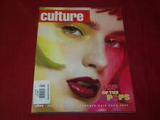 2008 CULTURE MAGAZINE VOLUME 10 NO. 4 - HAIR EXPO - TOP OF THE POPS - RC 835