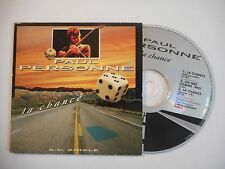 PAUL PERSONNE : LA CHANCE ♦ CD SINGLE PORT GRATUIT ♦
