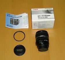 Canon EF-S 17-85mm f/4-5.6 IS USM AF Zoom Lens - MANUAL FOCUS ONLY