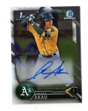 IOLANA AKAU  MLB 2016 BOWMAN CHROME PROSPECT AUTOGRAPHS (OAKLAND ATHLETICS)