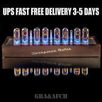 IN-18 Nixie Tubes Clock in Wooden Case Large 8 Tubes [UPS FRE Delivery 3-5 Days]