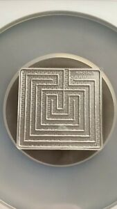 PAMP 2021 Minotaur the Labyrinth of Crete 1.5oz .9999 Silver Graded PL70