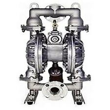 "Duel Diaphragm Pneumatic Pump - 2"" - Industrial Grade - Commercial Heavy Duty"
