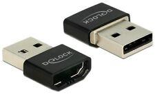 DeLOCK 65680 Adapter HDMI auf USB 2.0 HDMI Buchse auf USB 2.0 St. schwarz