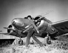8x10 Print Amelia Earhart Lockheed Electra 10E Special #AE90