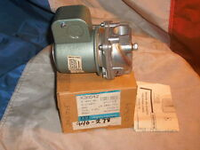 "ITT K3A542 MAGNETIC GAS VALVE 2W NC 110/120V 50/60Hz 1/2"" NPT .6 MAX PSI"