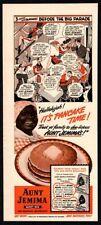 1942 AUNT JEMIMIA Pancakes - Hallelujah - Black Americana - Retro VINTAGE AD