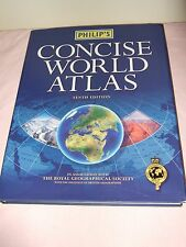 Philip's Concise World Atlas by Philips (Hardback, 2000)