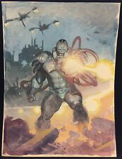 Apocalypse from the X-Men Painted Art Commission - LA Signed art by Esad Ribic