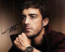 Fernando Alonso #1 - 10X8 pré imprimé de qualité Labo Photo Print