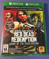 Red Dead Redemption [ Game of the Year Edition ] (XBOX ONE) NEW
