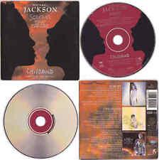 "Michael Jackson SCREAM / CHILDHOOD 5"" 5-inch CD Single 2 titres tracks 1995"