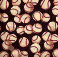 Change Up baseball sports Alexander Henry fabric