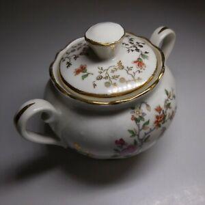 Sucrier céramique porcelaine Limoges vintage art déco maison table France N7633