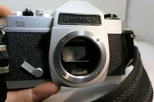 Chinon CS 35mm SLR Film Camera Body only M42 Screw Mount