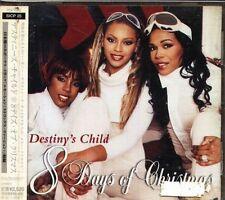 Destiny's Child - 8 Days Of Christmas - Japan CD+2BONUS - 14Tracks OBI