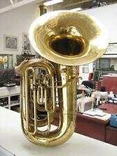 Good C.G. CONN (Elkhart) Model 20J Recording Tuba, no dents, GOOD VALVES!