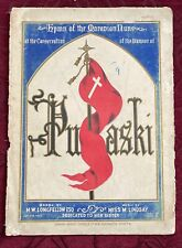 Hymn of the Moravian Nuns at Consecration of the Banner of Pulaski, SHEET MUSIC