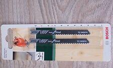 2 Bosch pinchazo hojas de sierra de 91mm u111c para cortes aproximada en madera blanda