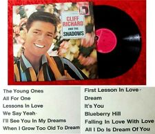 LP Cliff Richard and The Shadows