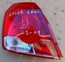 30-0266 DAEWOO KALOS MODEL 2002 08 REAR TAIL LIGHT LEFT SIDE USED