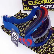 Electric EG1s Snow Goggles-Dip Dye Cyan Red/Bronze w. Silver Chrome Mirror Lens