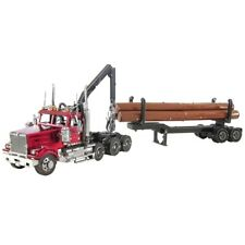Fascinations Metal Earth ICONX WESTERN STAR 4900 LOG TRUCK & TRAILER Model Kit
