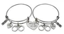 Best Friend Bracelet, Friends Jewelry, Handcuff Bracelet-Partner in Crime-...