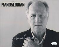 Werner Herzog STAR WARS THE MANDALORIAN Signed 8x10 Photo PROOF JSA COA RARE