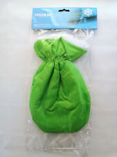 Eiskratzer mit Handschuh umschließender Gummizug grün gefüttertes Innenfutter