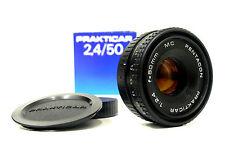 Pentacon Dresden Prakticar 2,4 /50 mm Objektiv  Originalverpackt Pancake  1124