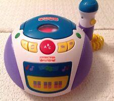 Fisher Price Karaoke Machine - Hard to Find, Fp-160, Nursery Rhymes, Abcs, Works