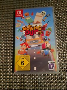 Nintendo Switch - Moving Out - eingeschweißt ovp