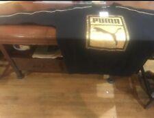 Puma Black & Gold Sweat Shirt Nwt Sz L