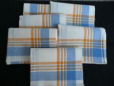 6 serviettes anciennes