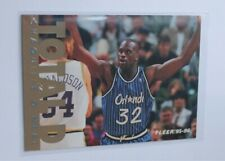 NBA Fleer 1994-95 Shaquille Oneal - Total D - SHAQ